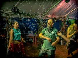 Dancing to Celtarabia at The Spirit of Awen, Rich's photos